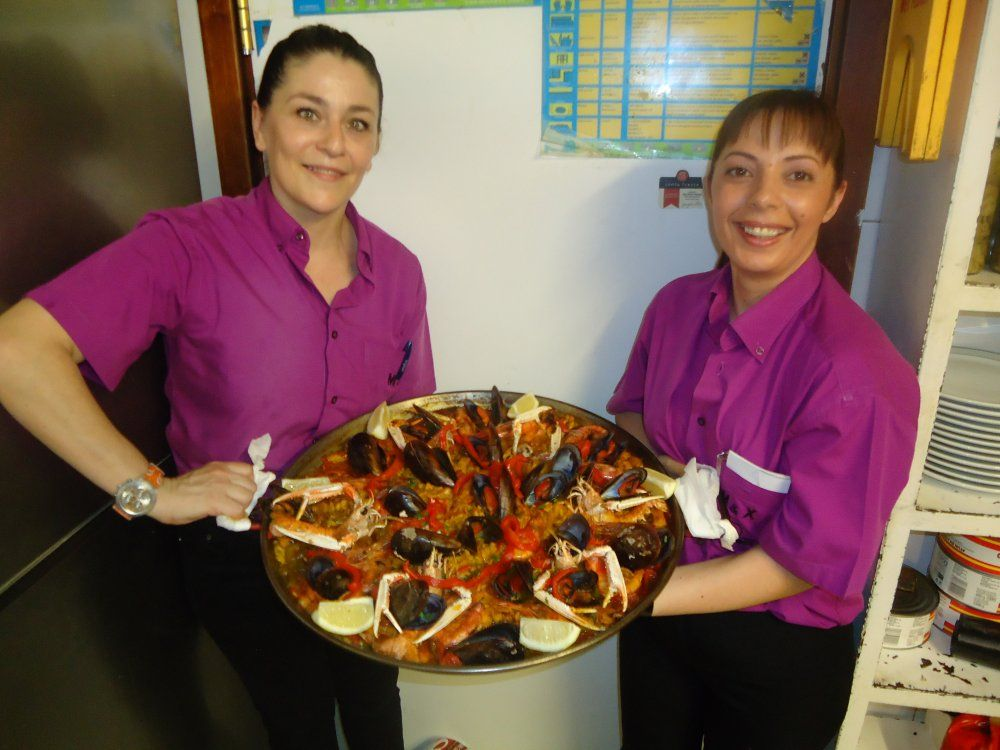 Paellas de marisco
