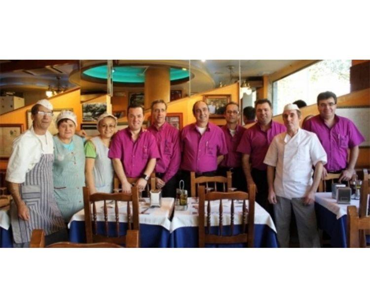 Equipo de nuestro restaurante en Sant Martí, Barcelona