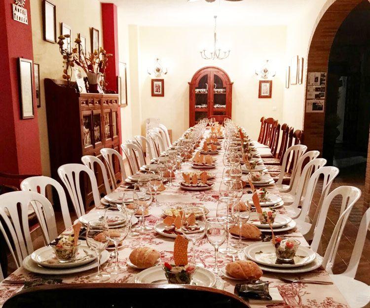 Amplio salón para celebraciones
