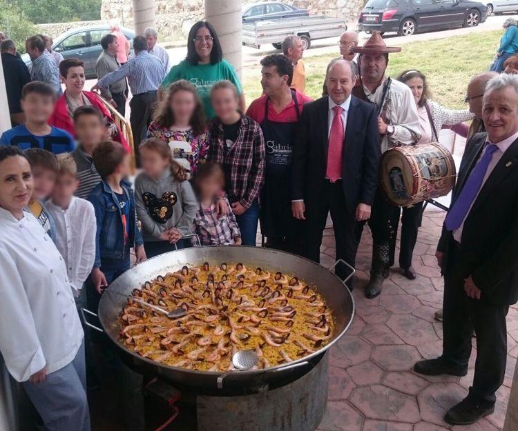 Paellas gigantes en Salamanca