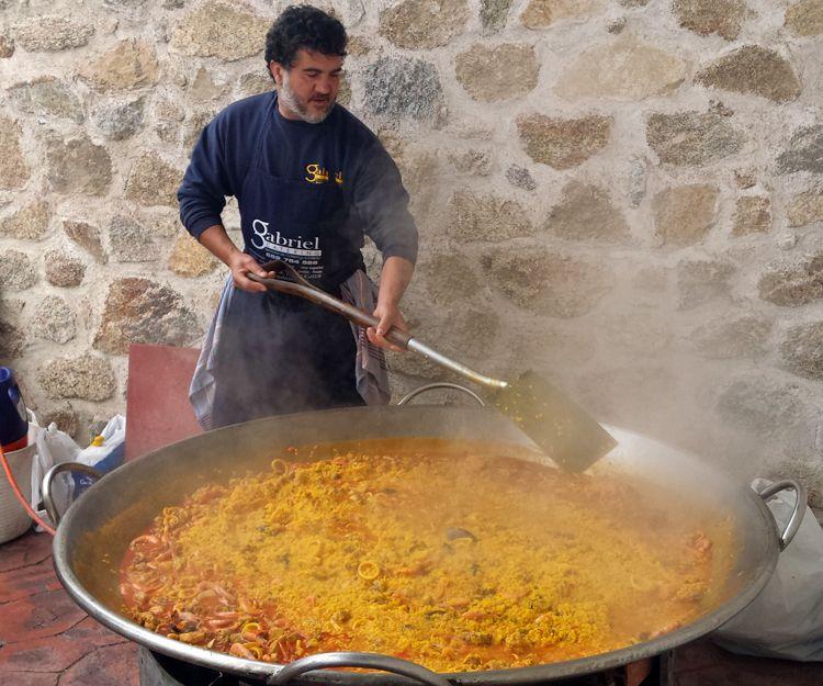 Especialistas en paellas gigantes en Salamanca