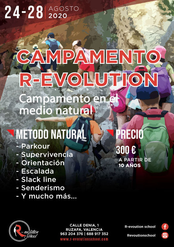 Campamento R-evolution School: Actividades y cursos de R-evolution School