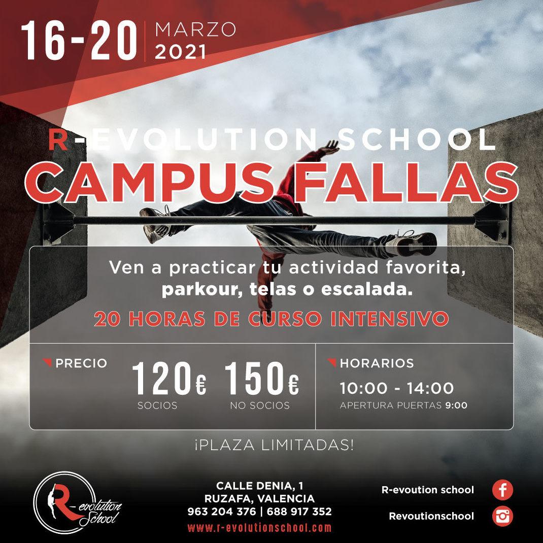 Campus de fallas R-evolution school Valencia