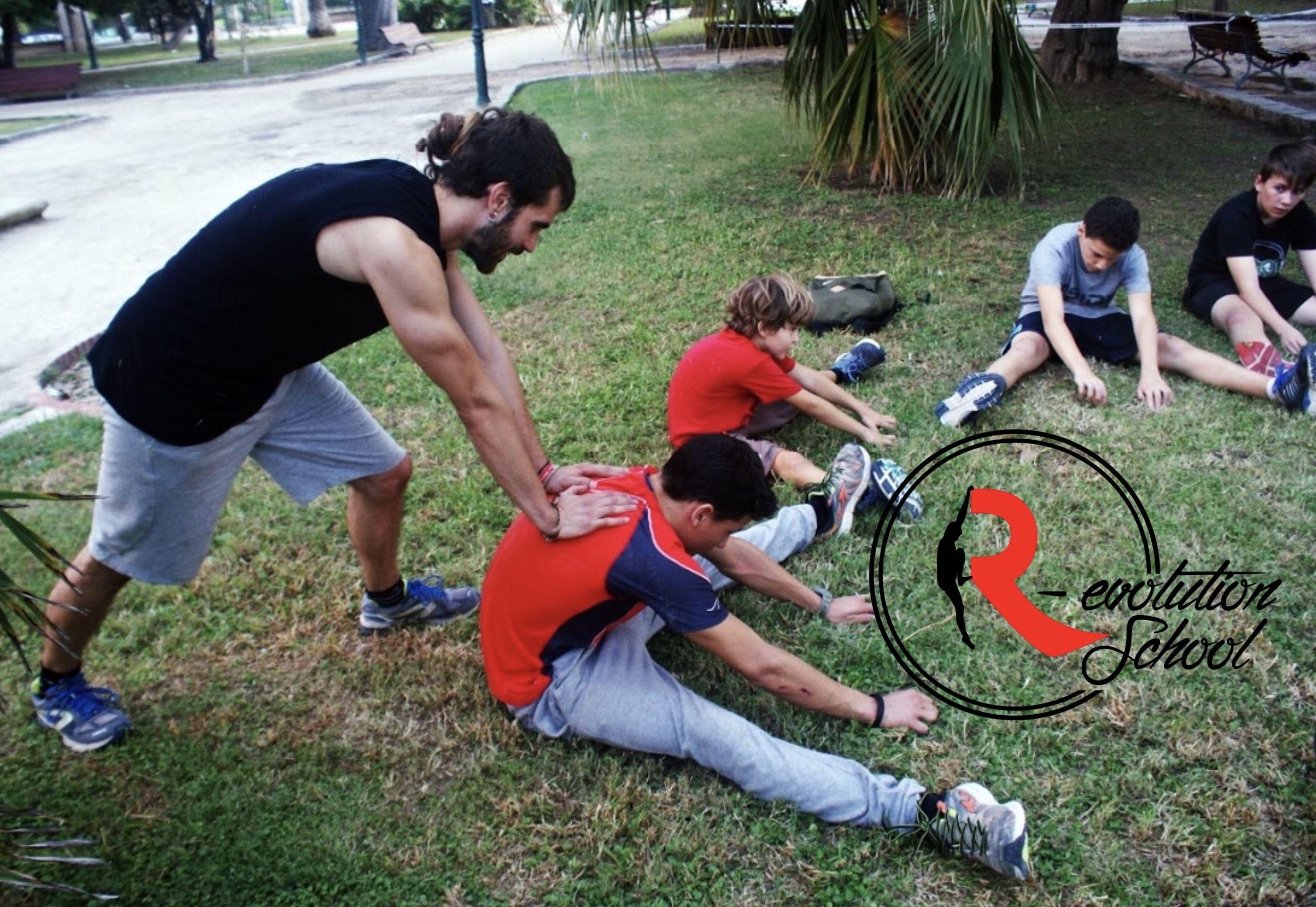 Entrenador personal Preparación fisica:  de R-evolution School