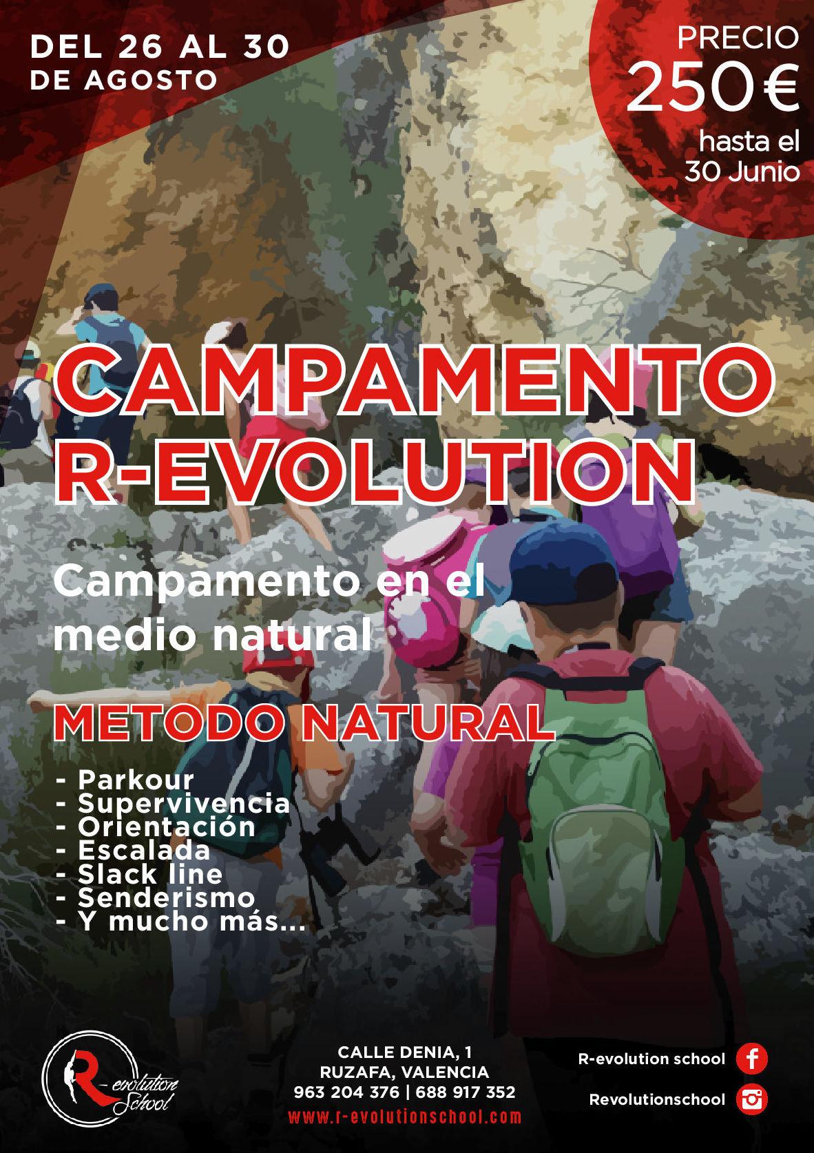 CAMPAMENTO VERANO R-EVOLUTION