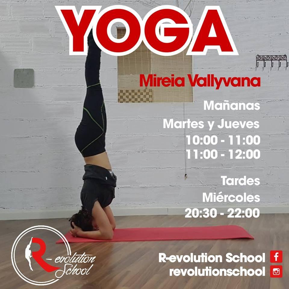 Yoga: Nuestras actividades de R-evolution School