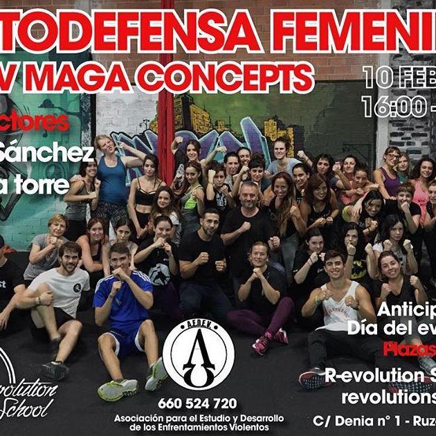 Taller autodefensa femenina Valencia