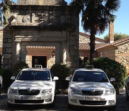 La mayor flota de taxis de la Sierra de Madrid