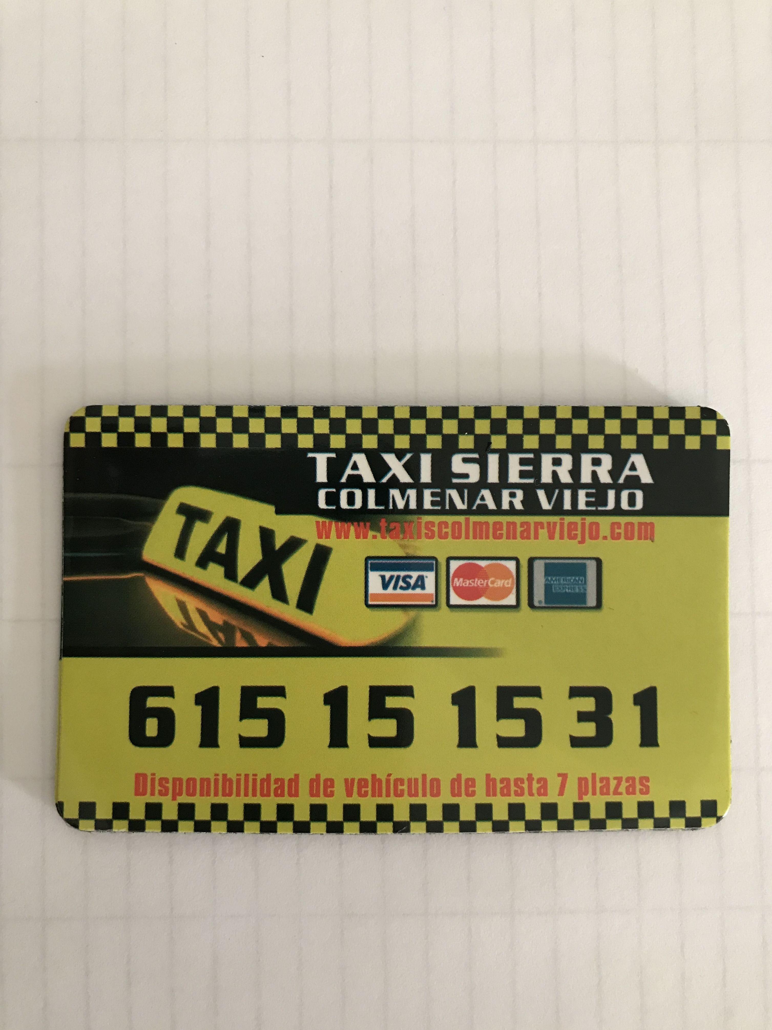 Foto 1 de Taxis en  | Taxis Colmenar Viejo