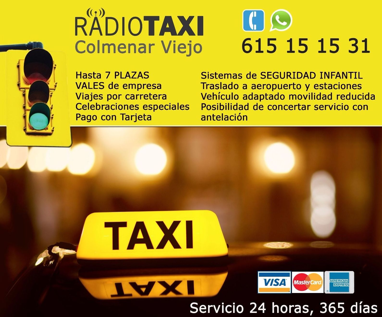 Foto 2 de Taxis en  | Taxis Colmenar Viejo