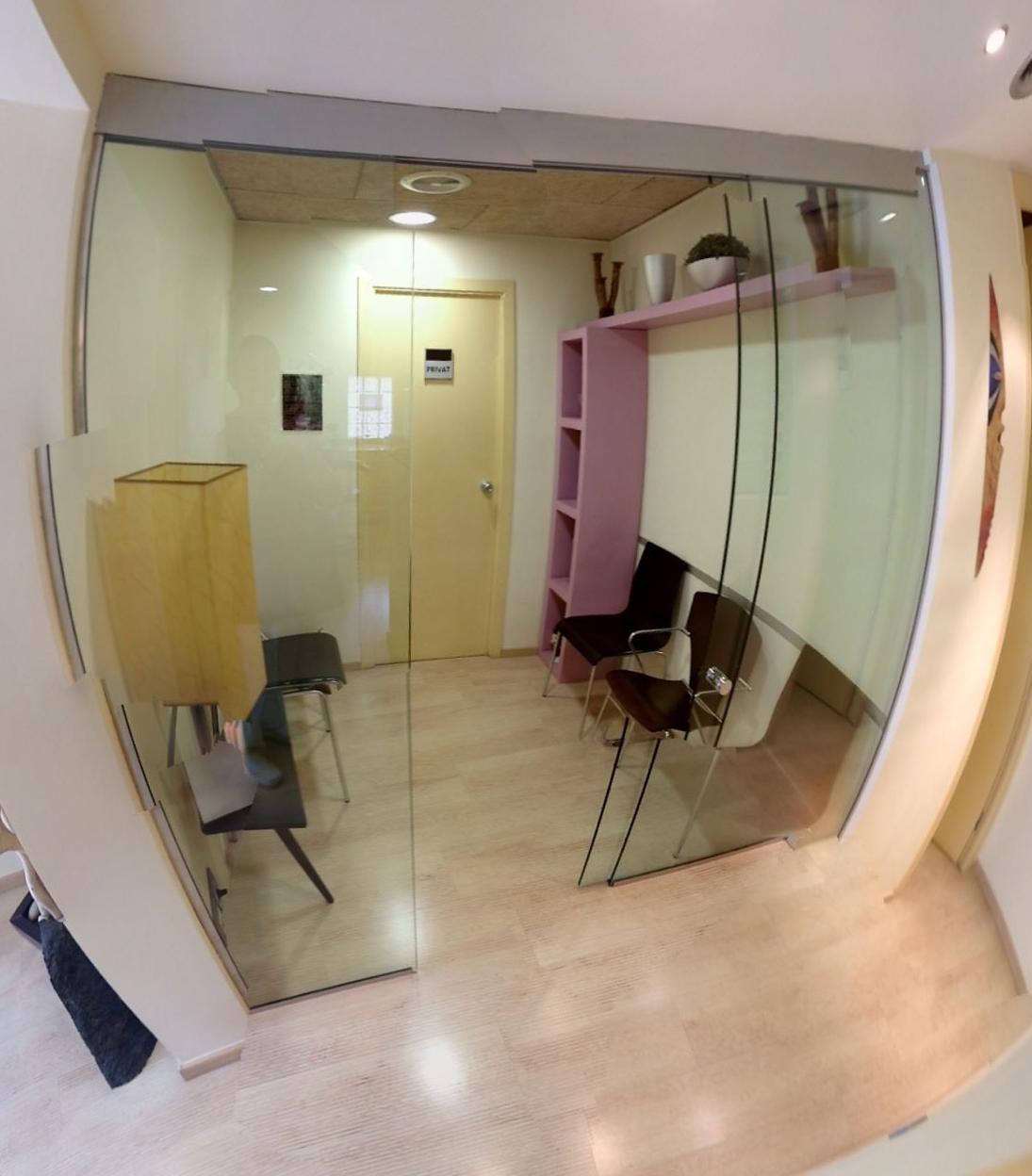Sala de espera del Centre Odontològic Sant Quirze