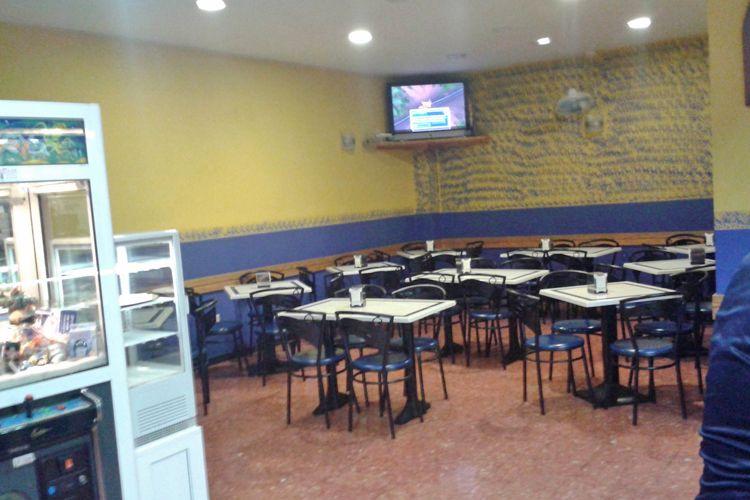 Interior del restaurante en Las Palmas