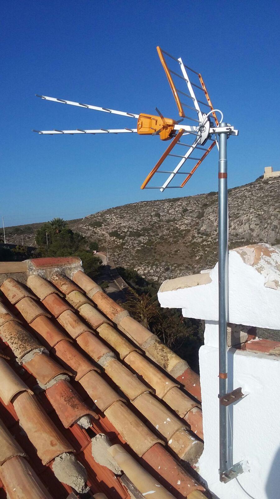 Especializados en la Instalación de antenas satélite en Cullera