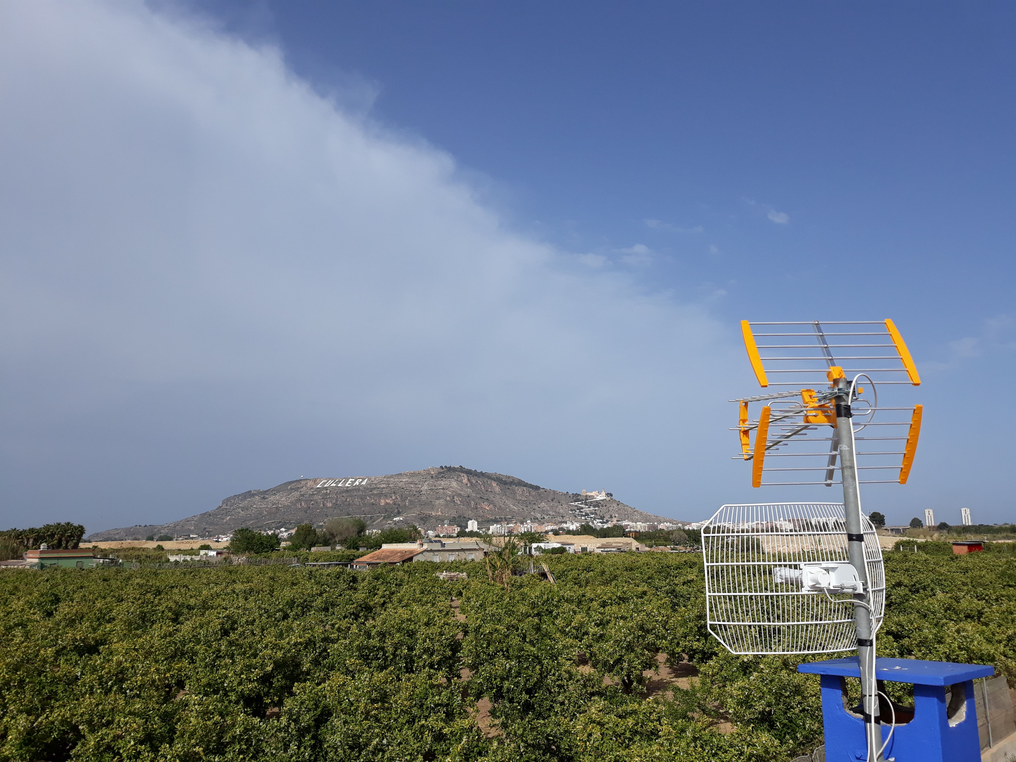 Instalación de antenas TDT en Cullera