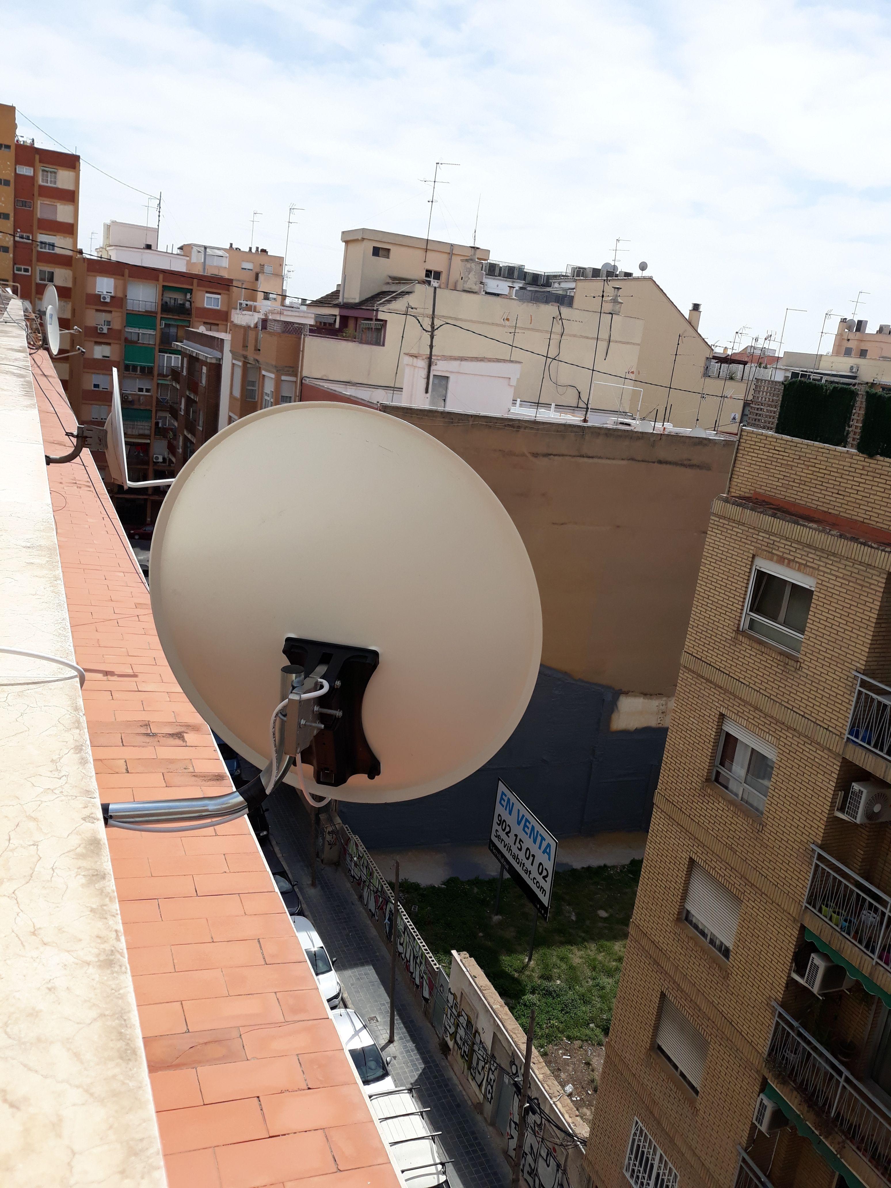 Instaladores  de antenas satélite en Cullera