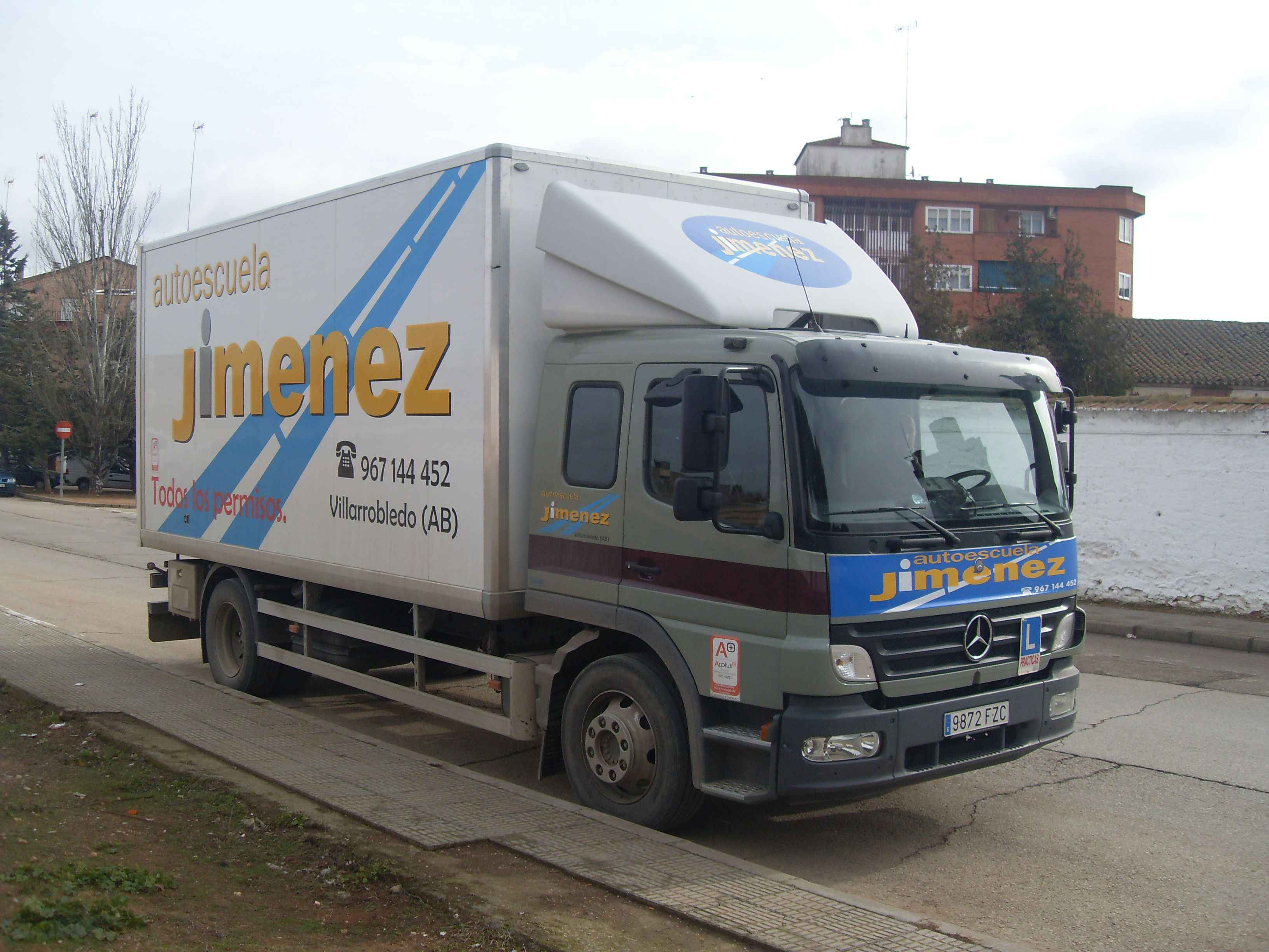 Carnet camión Villarrobledo