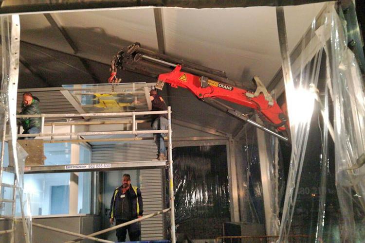 Foto 7 de Efectivos servicios de alquiler de grúas para obras en Torrejón de la Calzada | Grúas Ricar