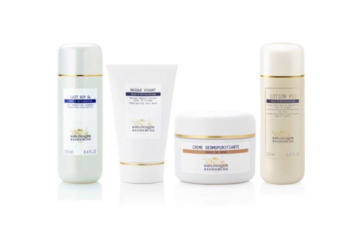 Amplia gama de productos de cosmética Biologique Recherche