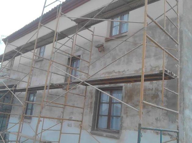 Reformar fachada. ANTES