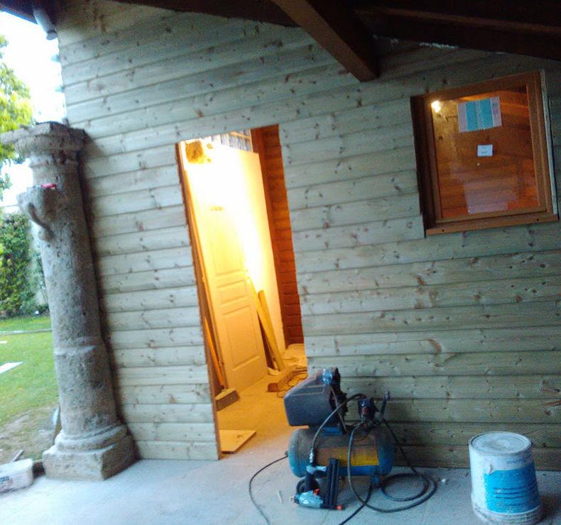 Cerramiento de madera