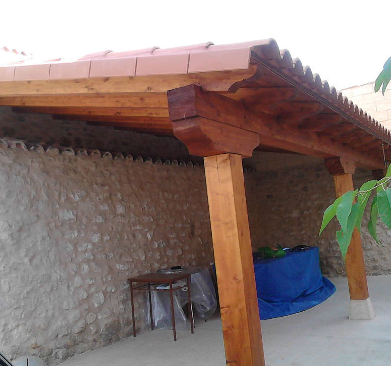 Techado de madera