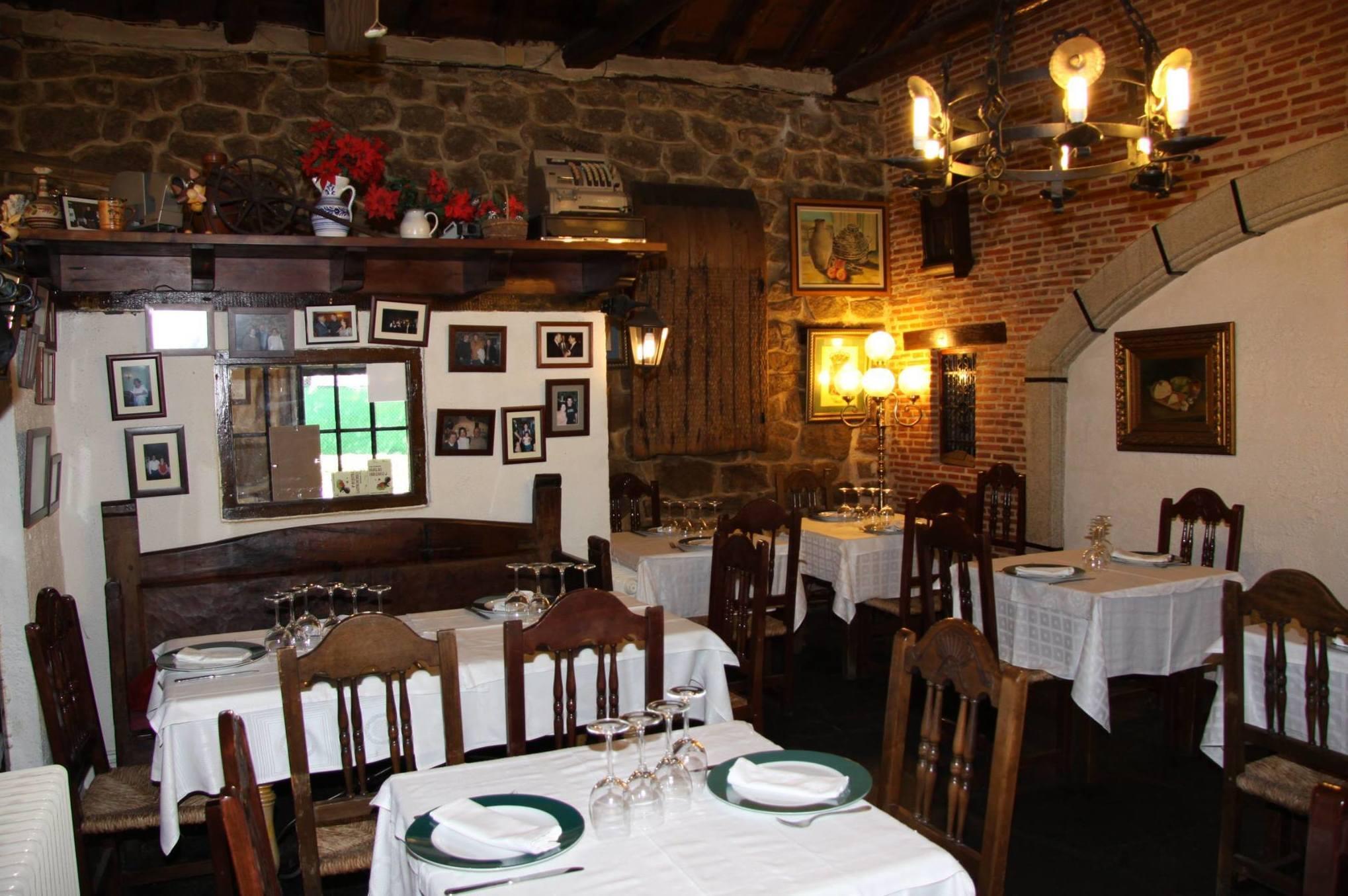 restaurante celebraciones en Moralzarzal