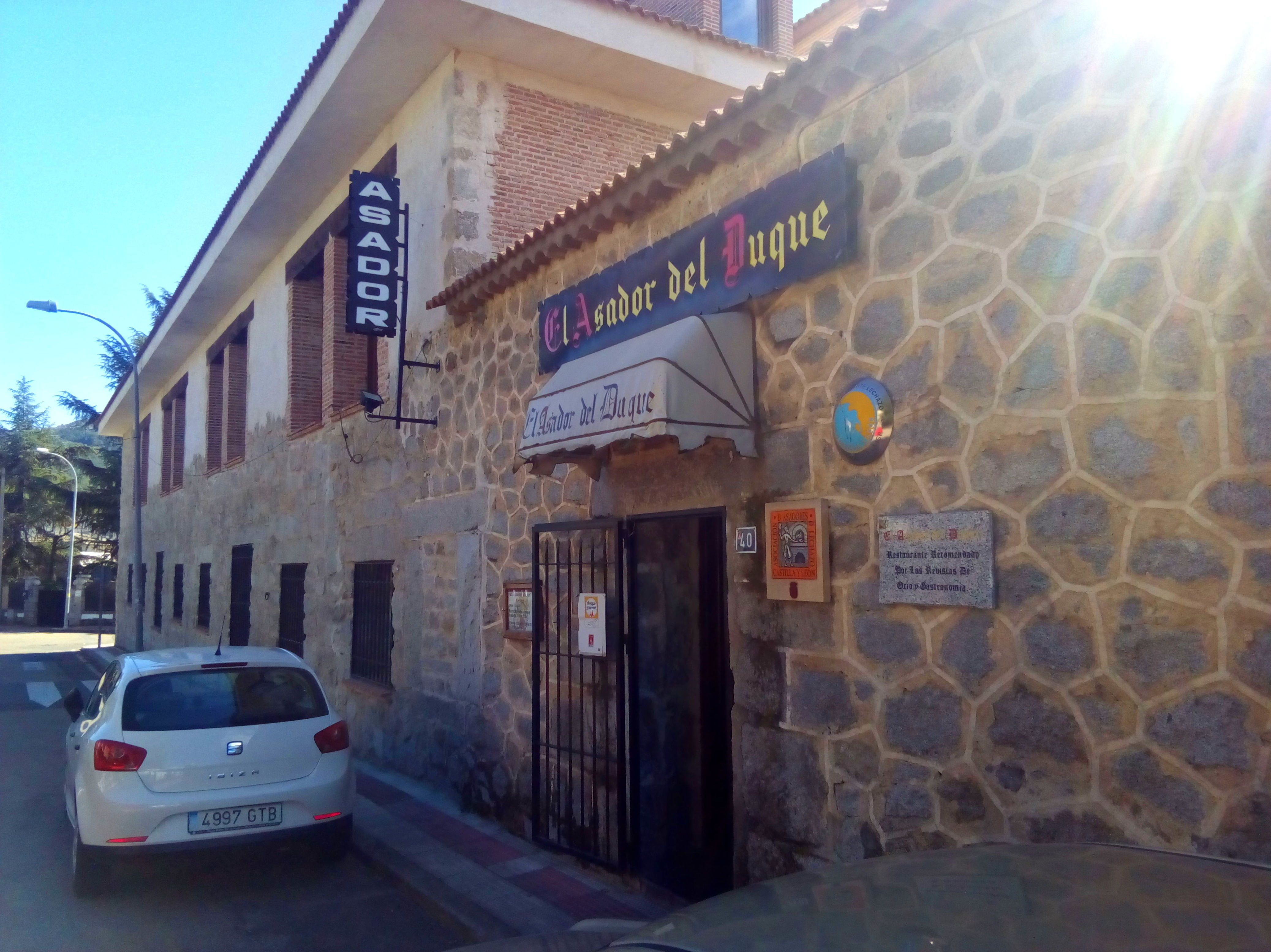Foto 6 de Asador - restaurante en Moralzarzal | El Asador del Duque