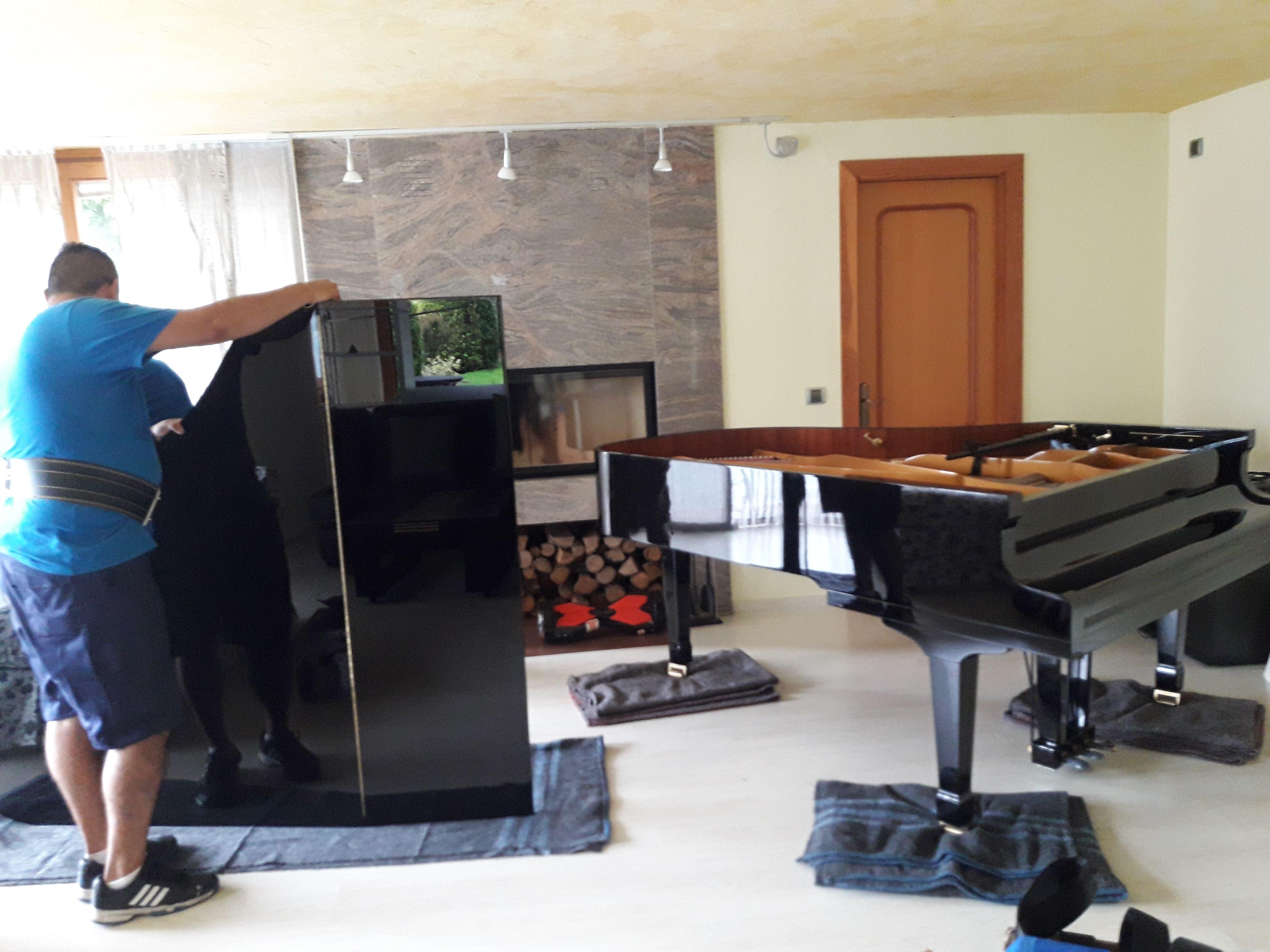 Mudanzas de pianos: Catálogo de Transportes Peña