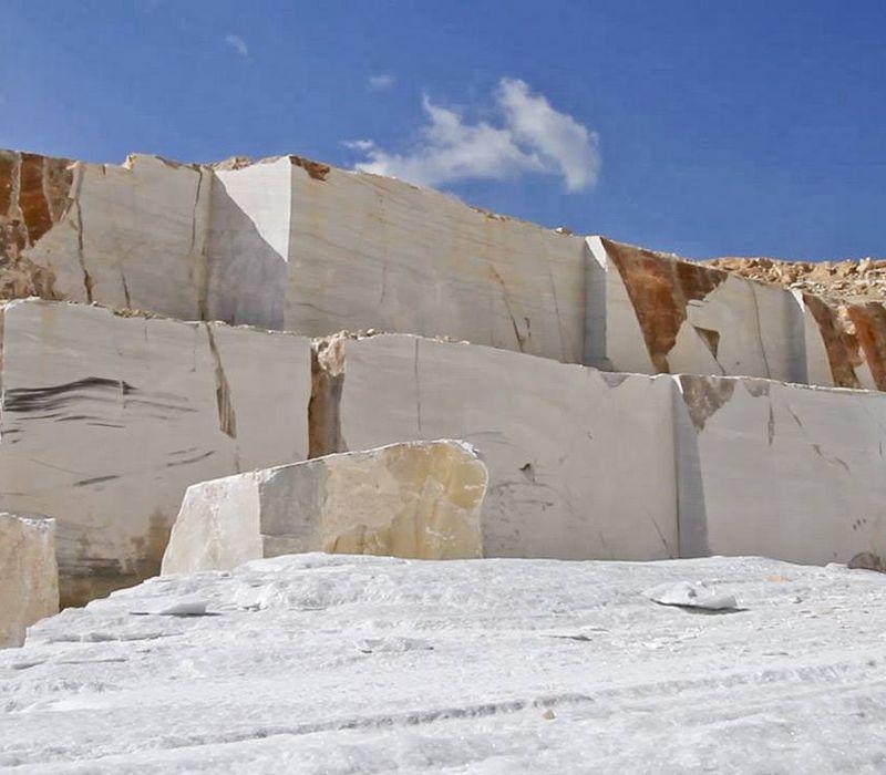 Cantera de piedra natural