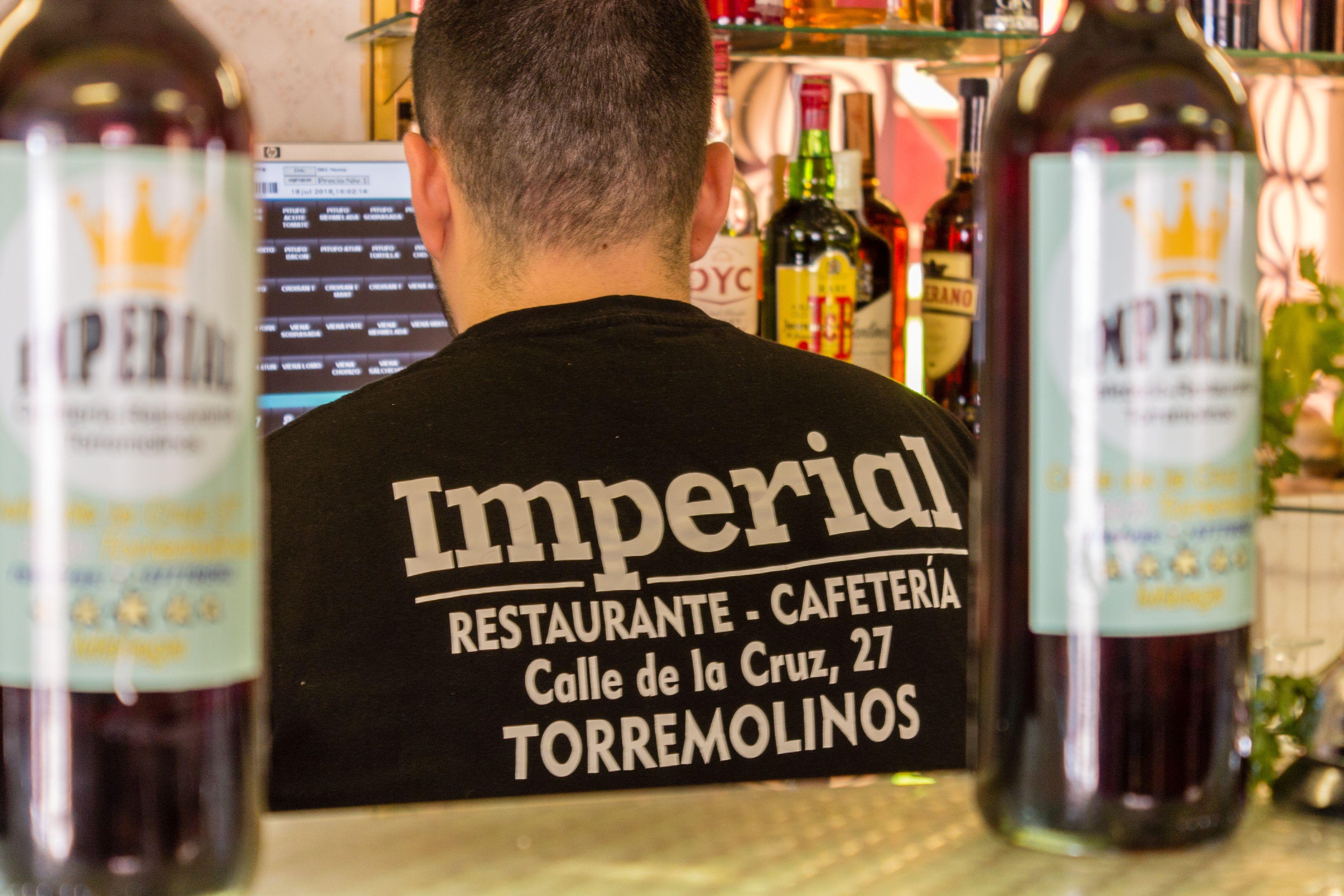 Publicidad de la Cafetería Restaurante Imperial