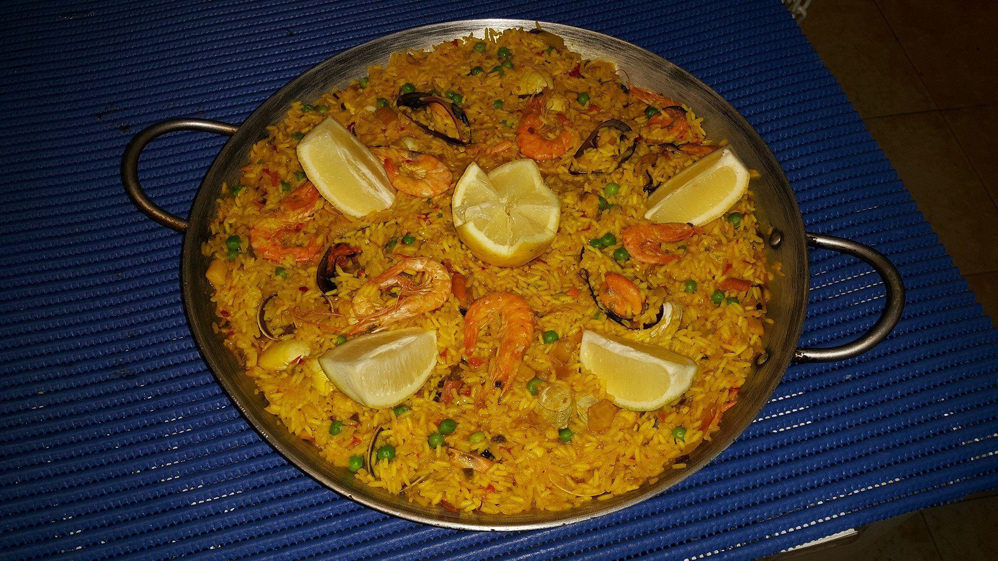 Restaurante especializado en paellas en Torremolinos