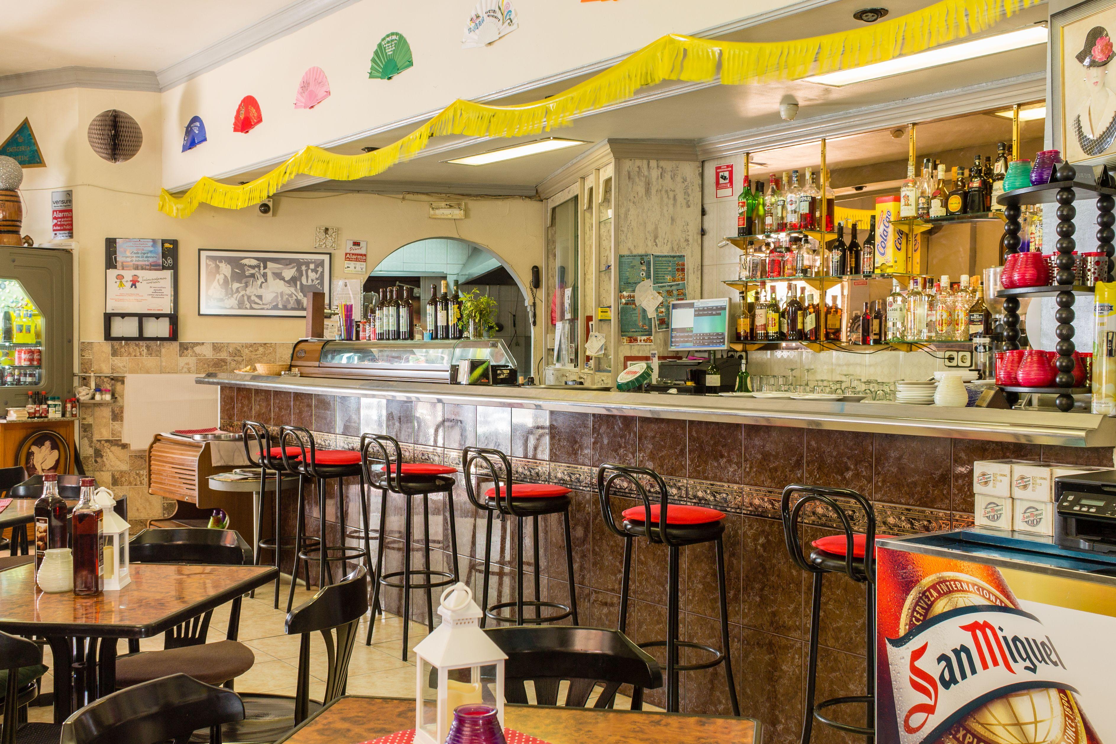 Zona de Barra del Restaurante Imperial
