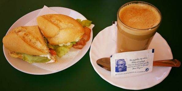 Desayunos imperial: Carta de Cafetería Restaurante Imperial