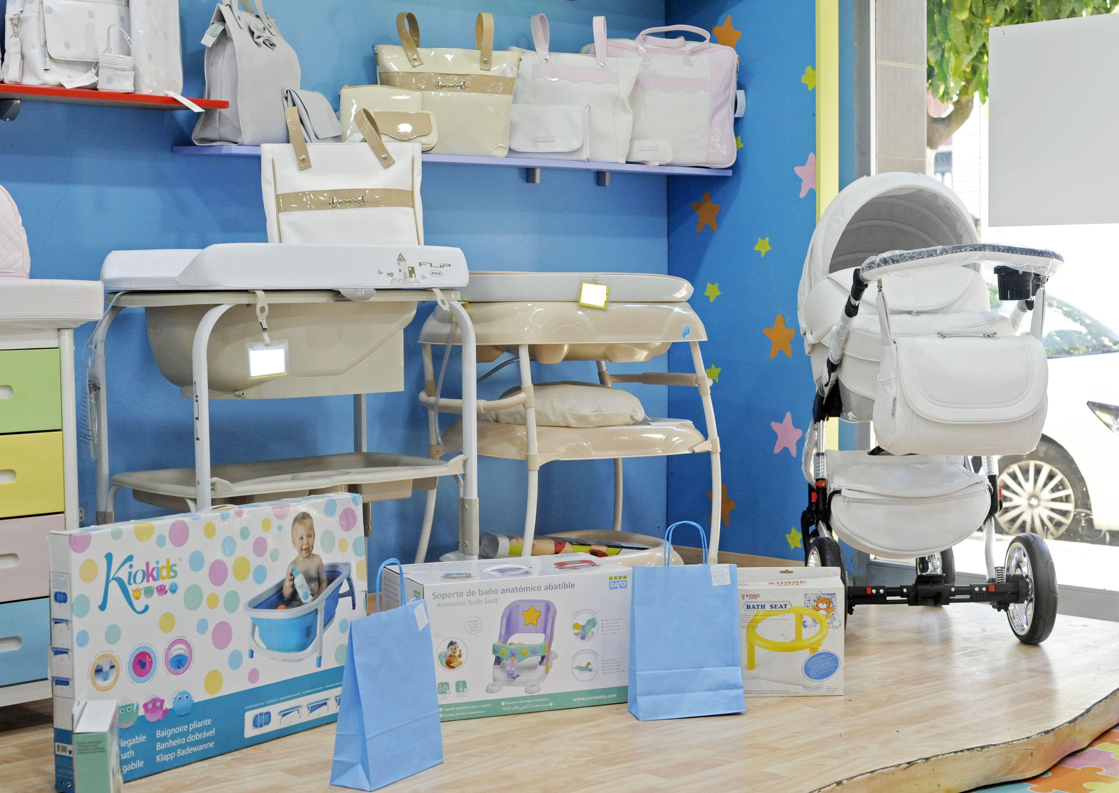 Bañeras y cambiadores para tu bebé