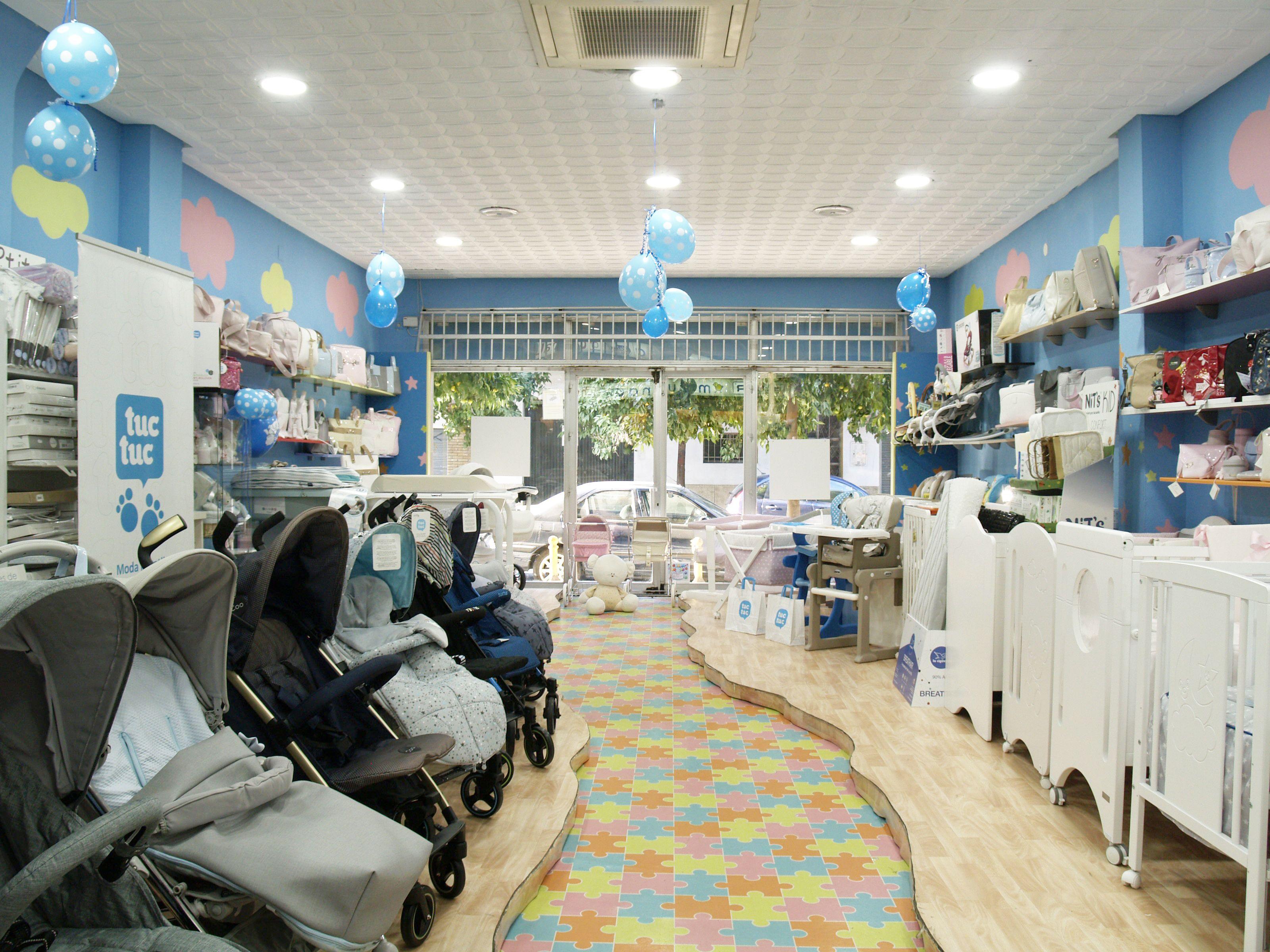 Venta de mobiliario para bebés en Sevilla
