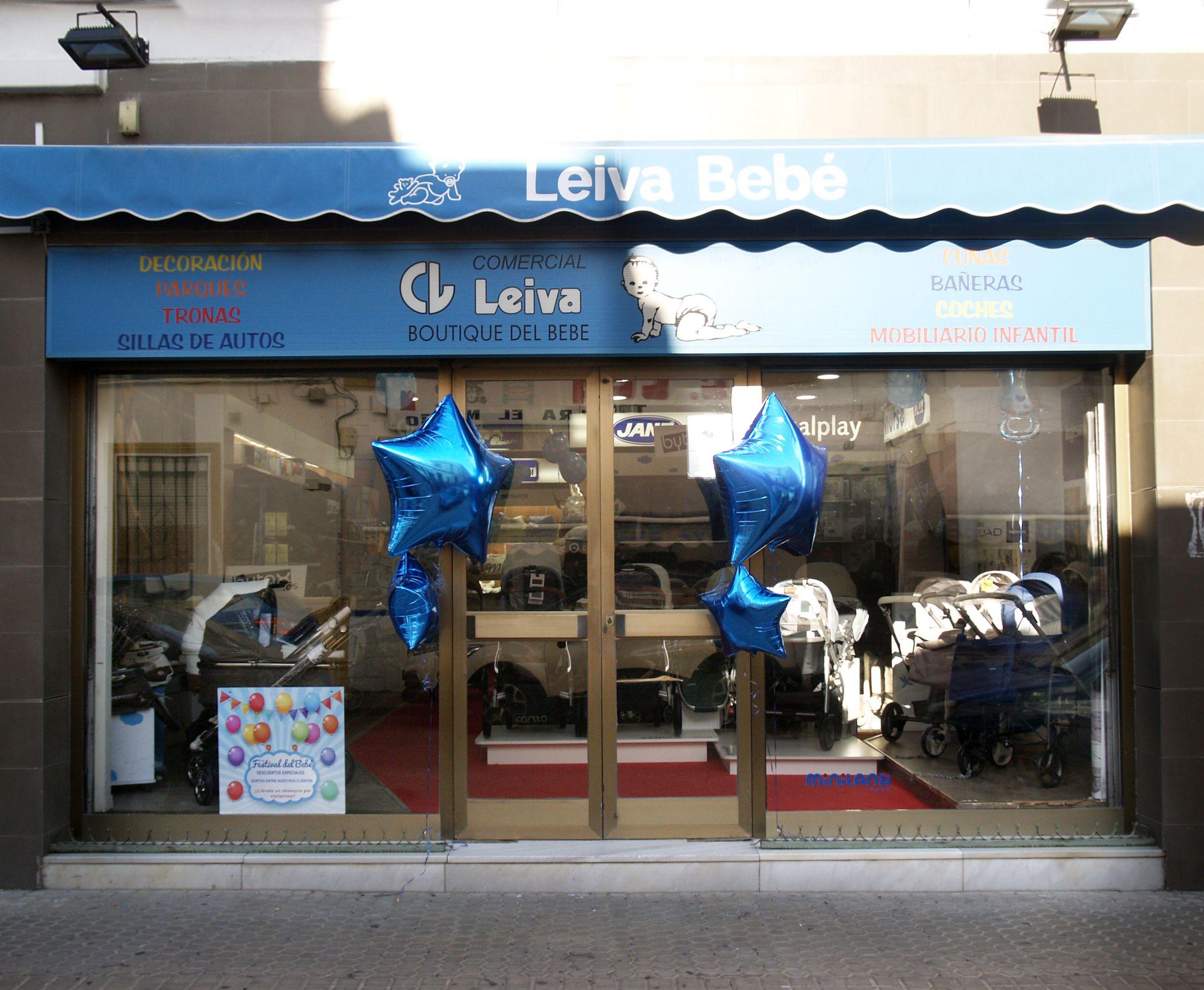 Fachada de la tienda en Sevilla