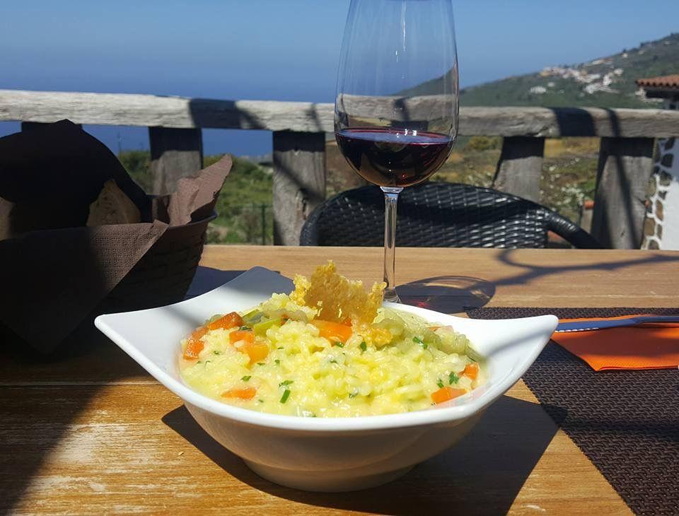 Restaurante con vistas en La Orotava