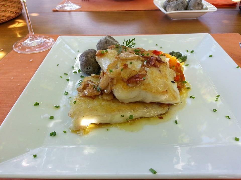 Platos de pescado en La Orotava