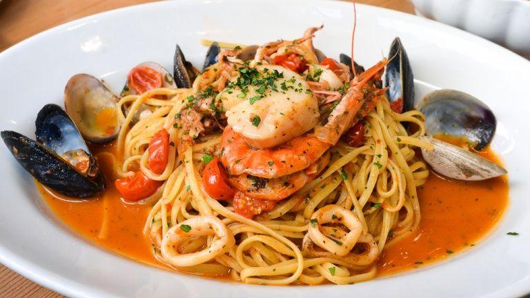 First Dishes: Cocina italiana de pescado de Ristorante La Nassa
