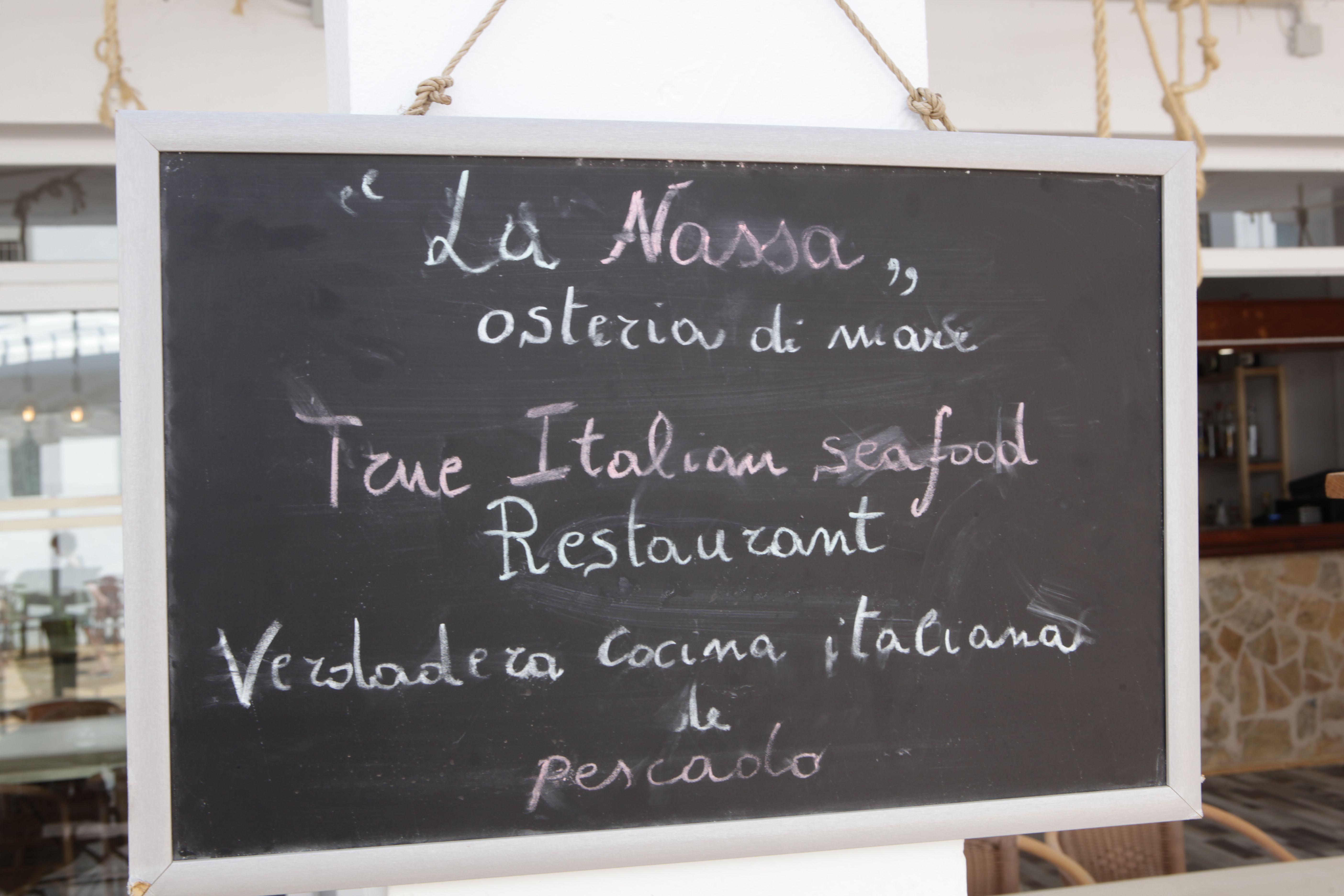 Slate Restaurant La Nasa