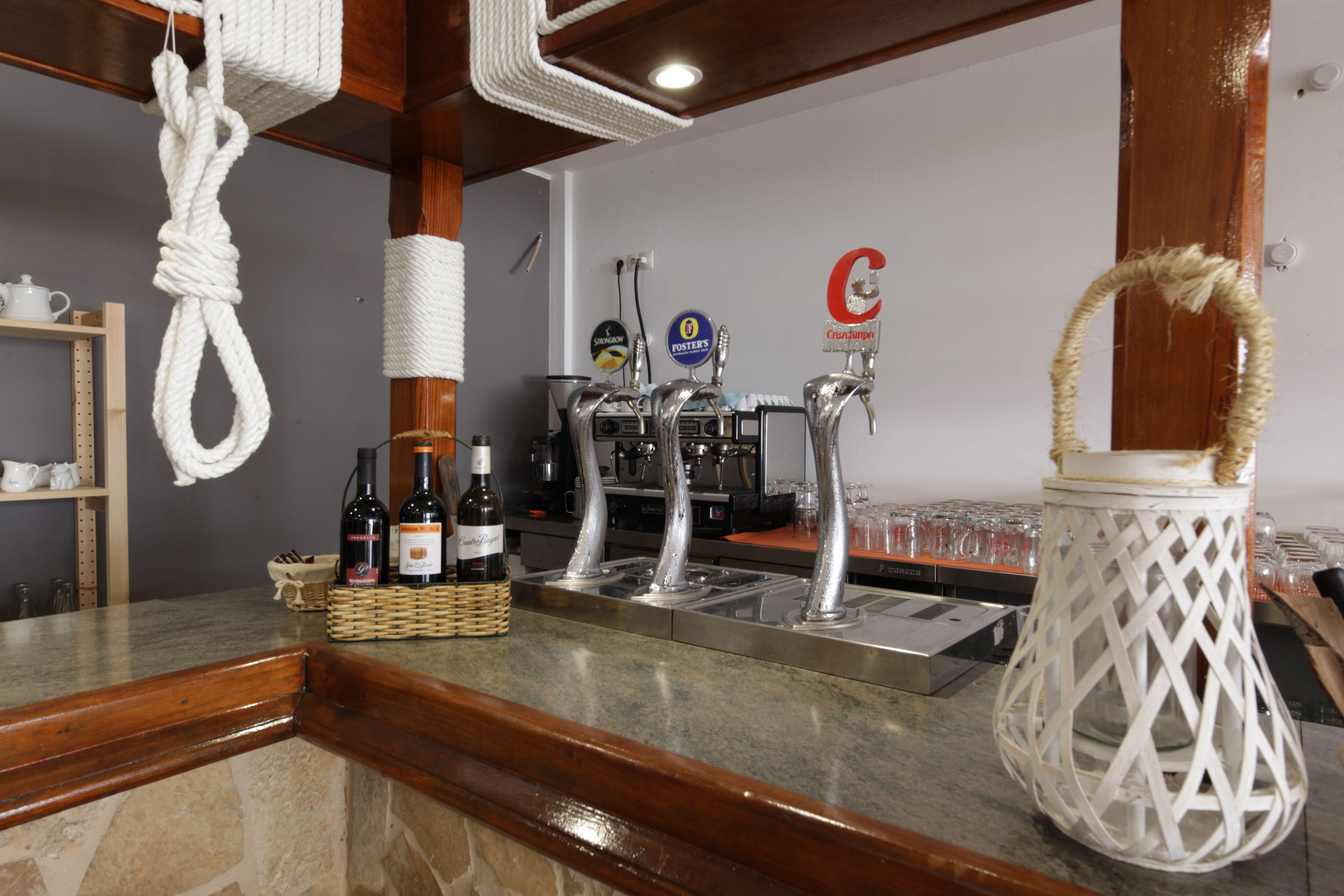 Beer faucets Ristorante La Nassa
