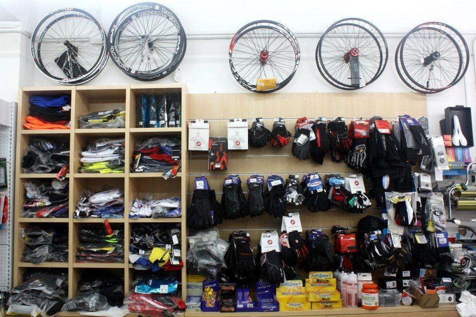 Accesorios para bicicletas en Granollers