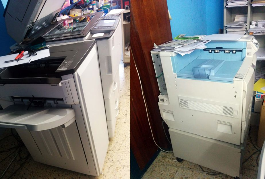 Tienda de fotocopias en León