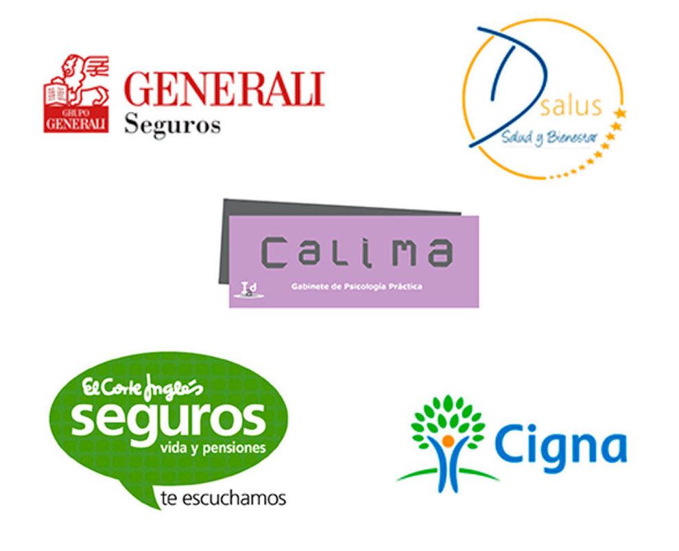 En Calima colaboramos con las mejores aseguradoras