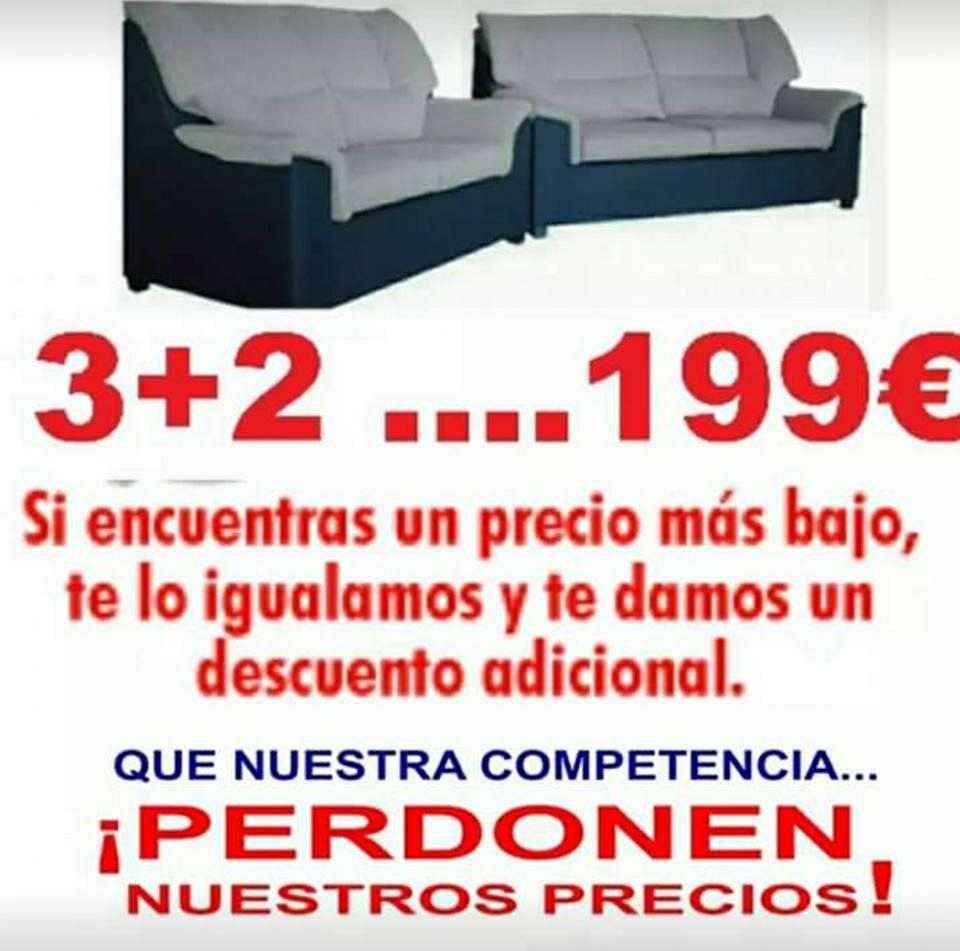 Sofás baratos Vallecas, Madrid