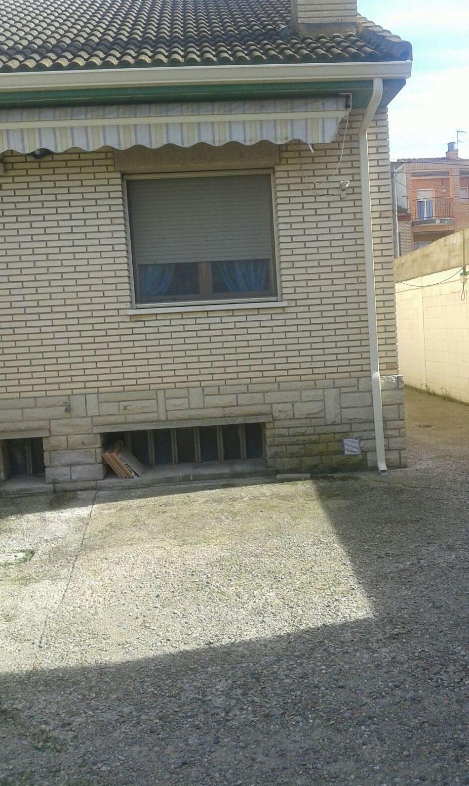 Canales agua de lluvia