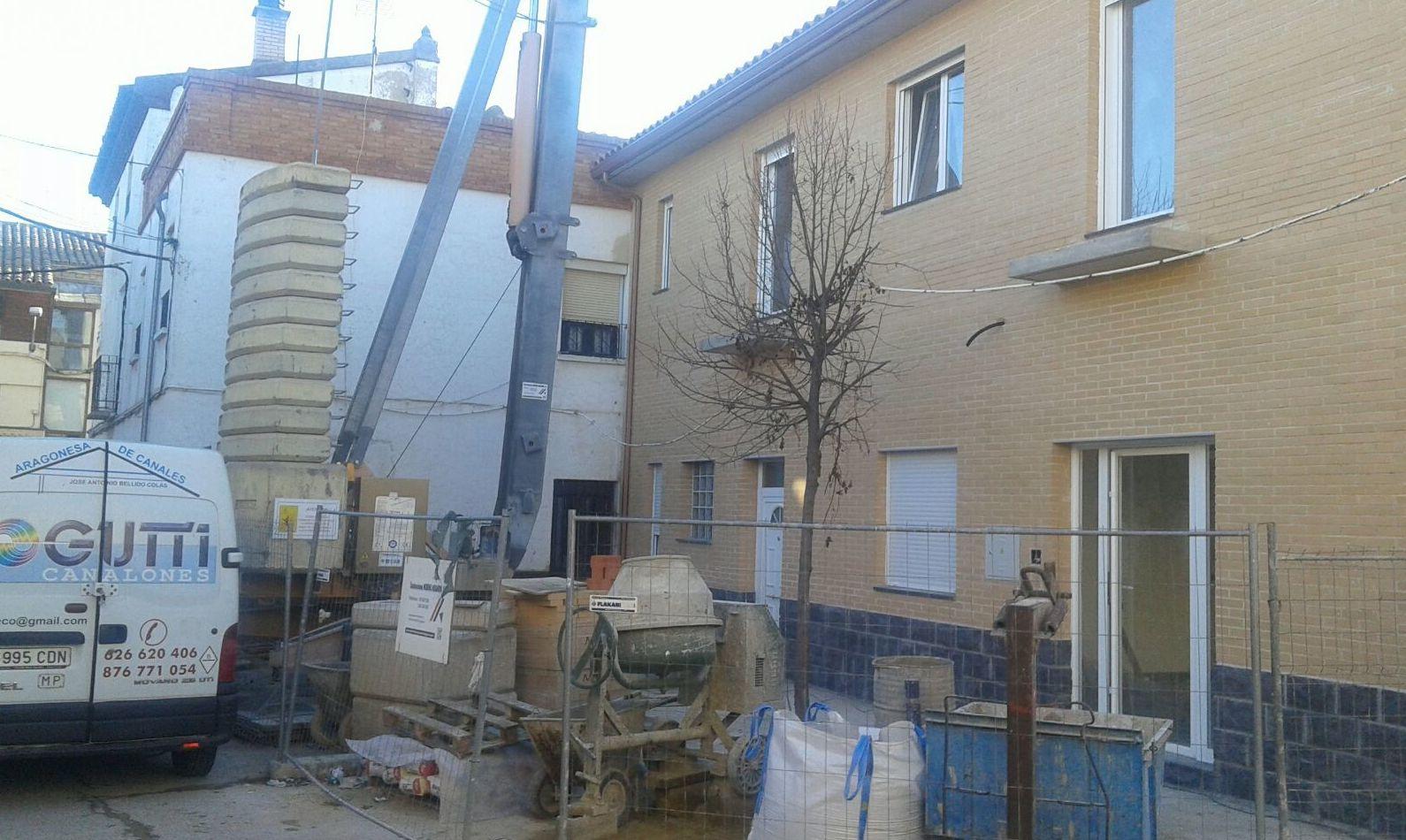 bajantes por fachada
