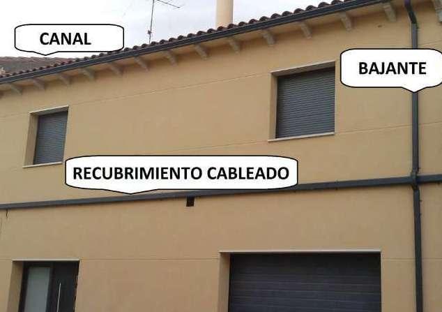 Recubrimiento de cableado aragonesa de canales - Recubrimiento de fachadas ...
