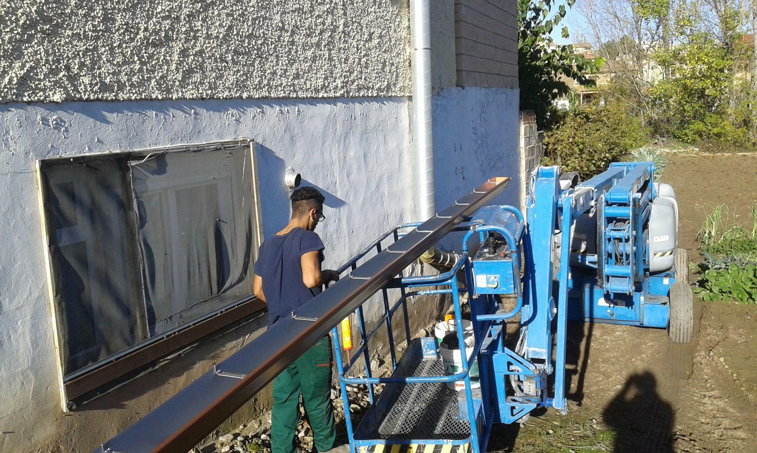Última tecnología en la fabricación de canalones