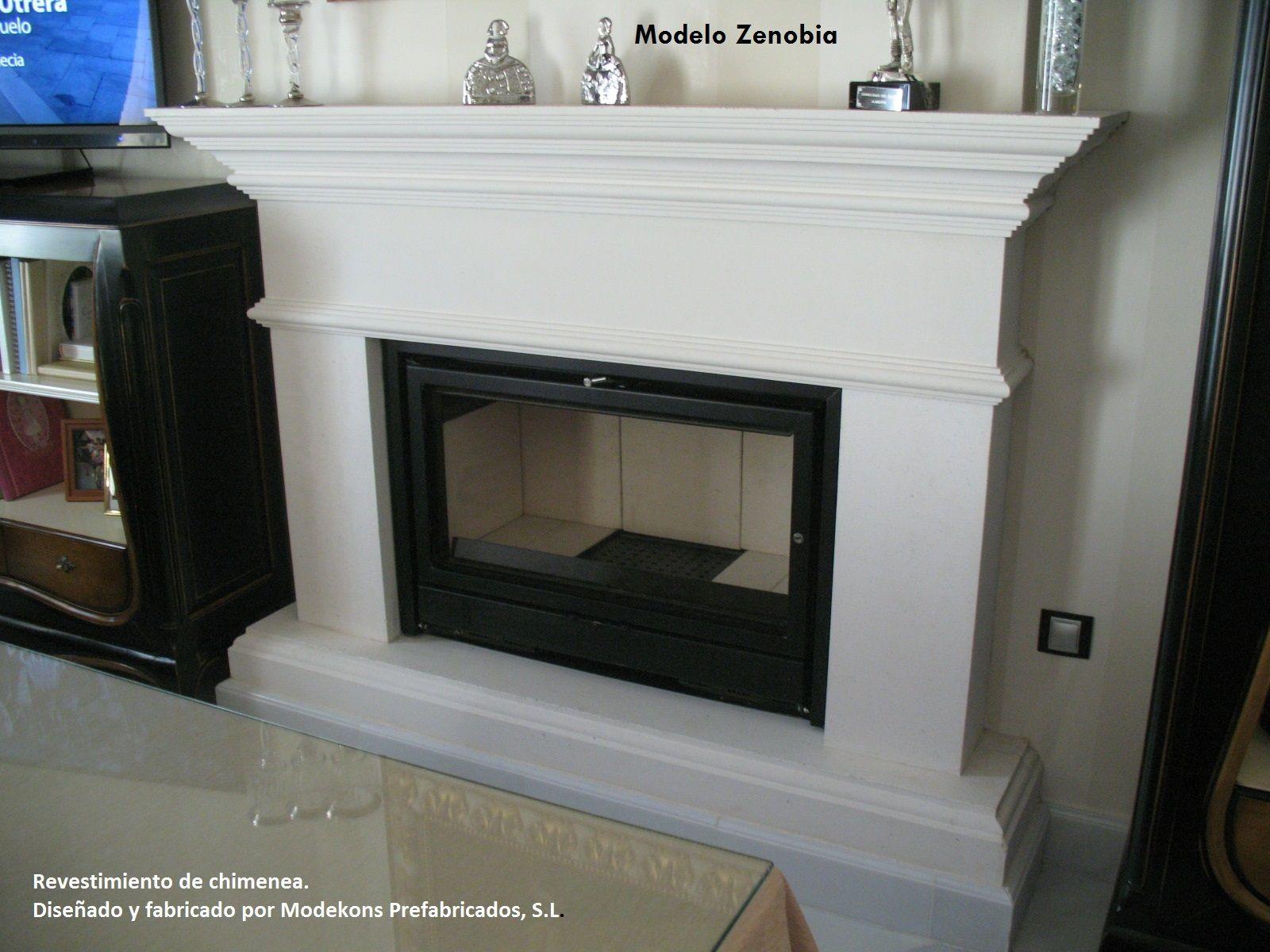 Modelo Zenobia. Fabricada en marmolina blanca